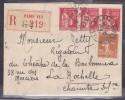 France Type Paix Sur Lettre - 1932-39 Peace