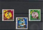 POLYNÉSIE  Année  1975  P.A.  N° Y/T :93/95** - Airmail