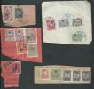 Turquie.timbres Sur Fragments - Lettres & Documents