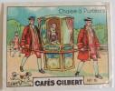 Cafés GILBERT: Série V Transports  = N°5 : Chaise à Porteurs - Tea & Coffee Manufacturers