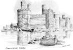 Postcard - Caernarvon Castle By Brian Lewis, Caernarvonshire. BL - Caernarvonshire