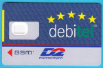 DEBITEL - D2 Mannesmann   ...  Germany Old GSM SIM Card - [2] Prepaid