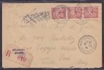 France Type Iris Sur Lettre - 1939-44 Iris