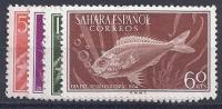 ESPAÑA/SAHARA 1954 - Edifil #116/19 ** - Precio Cat. €5.00 - Sahara Español