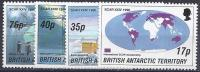 ANTÁRTIDA BRITANICA 1996- Yvert #265/68** Precio Cat. €11.50 - Territorio Antártico Británico  (BAT)