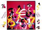 [DC0507] CARTOLINEA - BENVENUTO EURO - LUGLIO 2002  - DISEGNO DI UGO NESPOLO (07 DI 12) - NV - Monnaies (représentations)