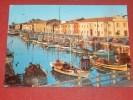 PESARO  -  Il Porto Canale Al Tramonto - Pesaro