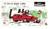 AUTOCOLLANT STICKER LOTTO HASPENGOUWRALLY 1985 - Aufkleber
