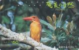 Télécarte Japon / 110-25181 - Animal - OISEAU MARTIN PECHEUR Chasseur - KINGFISHER Bird JAPAN Phonecard - 3987 - Japon