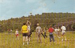 Volleyball At Forest County Camp Marienville Pennsylvania 1964 - Scouting