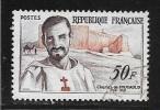 N° 1191  FRANCE - OBLITERE -  CENTENAIRE NAISSANCE CHARLES FOUCAULD  - 1959 - Usados