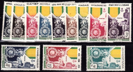 Grande Série Coloniale, Neuf Sans Charniere, Centenaire De La Médaille Militaire - Otros