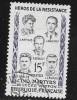N° 1198  FRANCE  - OBLITERE  - CINQ MARTYRES LYCEE BUFFON  -  1959 - Usados