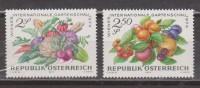 FRUTAS. AUSTRIA. NUEVO - MNH ** - Frutas