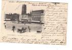 Dunkerque La Place Jean Bart ( Calèche , Manège , Beffroi , Les Arcades ... - Dunkerque