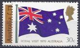 AUSTRALIE 1970- YVERT# 404/5** Precio Cat. €4.50 - 1966-79 Elizabeth II