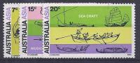 AUSTRALIE 1970- YVERT# 430/2** Precio Cat. €6.50 - 1966-79 Elizabeth II