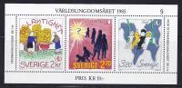 INFANTIL/DIA INTERNACIONAL DEL NIÑO - SUECIA 1985- Yvert#H 13**  Precio Cat€5.50 - Infancia & Juventud