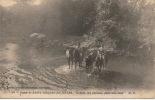 CAMP DE SAINT MEDARD EN JALLES - Le Bain Des Chevaux Dans Une Jalle - Sonstige Gemeinden