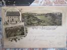 GRUSS AUS LUTZELSTEIN LA PETITE PIERRE GASTHAUS ZUM  PFLUG  1897 RARE - Other Municipalities