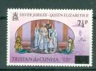Tristan Da Cunha: 1978   Provisional Definitives - Surcharges  SG233a  7½p  [straight Top To Serif]     MH - Tristan Da Cunha