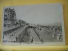 14 440 CPA - CABOURG - LA PLAGE ET LA DIGUE - 1934 - ANIMATION - Cabourg