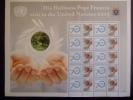 UNITED NATIONS 2015 VISIT POPE FRANCISCUS AT UN  MNH **  (GROEN-R--1150) - Unused Stamps