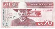 Namibia - Pick 5a - 20 Dollars 1996 - Unc - Namibie