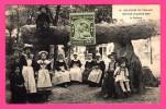 Nantes 1910 - Le Dolmen - Enfants - Animée - Costumes Bretons - Phototypie VASSELLIER - Nantes