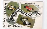 CPM - GRAND PRIX DE MONACO - Plan Du Circuit - Grand Prix / F1