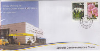 SPECIAL COVER ILE MAURICE (MAURITIUS) 10.08.2009 - Pfficial Openning Oj The New 4 Bornes Post Office - Maurice (1968-...)