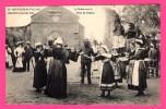 Nantes 1910 - La Ronde Sur La Place De L´Église - Enfants - Animée - Costumes Bretons - Phototypie VASSELLIER - Nantes