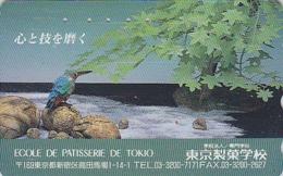 Télécarte Japon - OISEAU - MARTIN PECHEUR - KINGFISHER Bird Japan Phonecard - EISVOGEL Vogel TK - 4039 - Japan