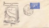 ARGENTINIEN 1956 - 50 C Auf FDC Brief - FDC