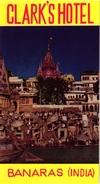 4 HOTEL Labels INDIA Banaras New Delhi Bombay Etiquettes Luggage Bagage Kofferetiketten   Taj Mahal Hotel - Hotelaufkleber