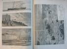 "UNIVERS 1887 N°1675:PAGNY-SUR-MOSELLE INCIDENT DEROULEDE-SCHNAEBELE/PARI S CIRQUE D'ETE/POINTE D'AILLY NAUFRAGE""VICTORIA - Journaux - Quotidiens"