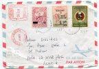 - Cover PEROU - 1976, 3 Stamps, Dont 2  Surchargés, Par Avion, To La Seyne Sur Mer, TBE, Scans.. - Pérou