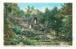 FRA CARTOLINA POST CARD STATI UNITI D'AMERICA U.S.A. UNITED STATES OF AMERICA PATERSON, NEW JERSEY – GROTTO OF OUR LADY - Paterson
