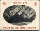 ROCHEFORT ..--  GROTTES . Carnet De 9 Cartes Petit Modèle . 9 CM X 6.5 CM . - Rochefort
