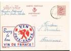 P787 -  Publibel Oblitérée 1732 France Wijnen, Vins Français (raisin, Joie, Santé) - Publibels