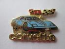 Chevrolet Corvette Pin Ansteckknopf Hellblau - Corvette