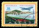 !■■■■■ds■■ Macao Air Post 1960 AF#20ø Lanscapes 10 Patacas (D242) - Used Stamps