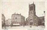 Roanne - La Place Du Palais Et L'Eglise St-Etienne - Carte CAP N°7 Non Circulée - Roanne