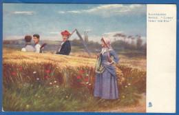 Malerei; Landschaft; Tuck Raphael; Comis Thro The Rye; 1903 - Tuck, Raphael
