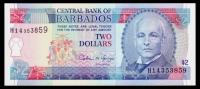 Barbados 2 Dollars 1995 P.46 UNC - Barbados