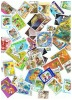 LOT De 50 TIMBRES   EUROPE  ASIE - Vrac (max 999 Timbres)