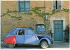 VAUCLUSE 84 ROUSSILLON LE VILLAGE DES OCRES PHOTO DE A LEVY LA 2 CV CITROEN - Toerisme