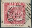 Lot Baden: 10 Mal Nr. 18 Je Mit Abart Bzw. Durckzufälligkeit - Allemagne