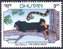 192 Bhutan Disney Jungle Panther Panthere MNH ** Neuf SC (BHU-34c) - Felini