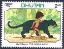 192 Disney Bhutan Jungle Panther Panthere MNH ** Neuf SC (BHU-33a) - Bhutan